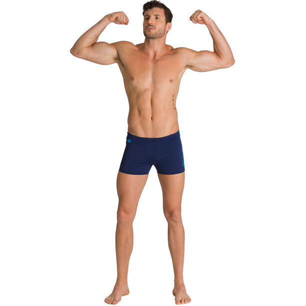 arena Feather Shorts Herren navy/turquoise