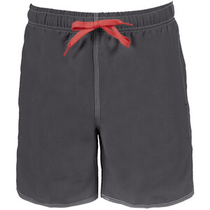 arena Fundamentals Solid Short de bain Homme, asphalt/red asphalt/red