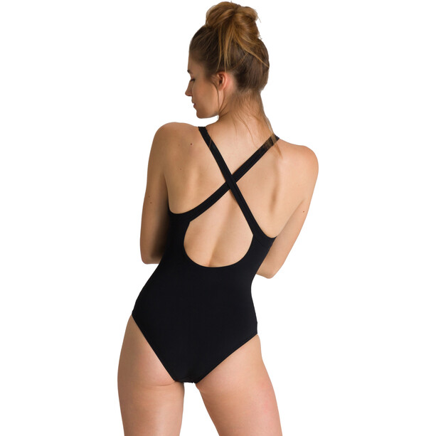 arena Masami Embrace Back One Piece Badeanzug Damen black/black
