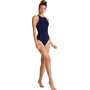 arena Masami Embrace Back One Piece Badeanzug Damen navy/navy