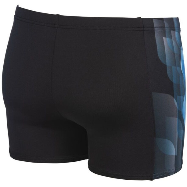arena Mirrors Shorts Men, musta