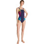 arena Naomi Wing Back One Piece Badeanzug Damen navy/navy