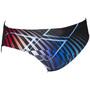 arena Optical Waves Slip de bain Homme, black/multi