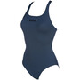 arena Solid Swim Pro One Piece Badeanzug Damen shark/black