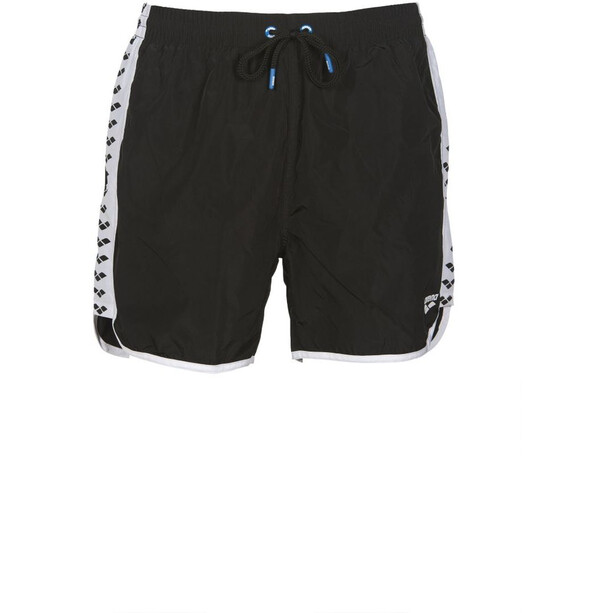 arena Team Stripe Short de bain Homme, black/white/black