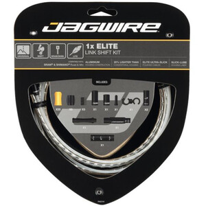 Jagwire 1X Elite Link Shift Cable Set シルバー