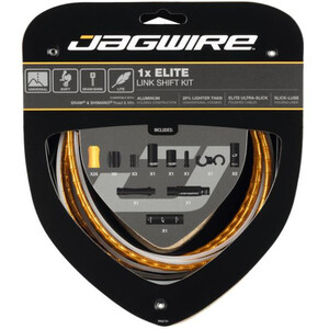 Jagwire 1X Elite Link Shift Cable Set ゴールド
