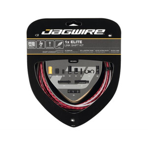 Jagwire 1X Elite Link Shift Cable Set レッド