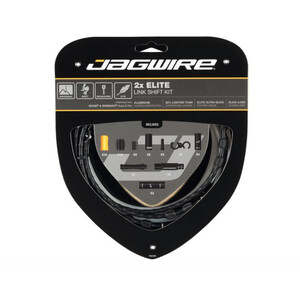 Jagwire 2X Elite Link Shift Cable Set ブラック
