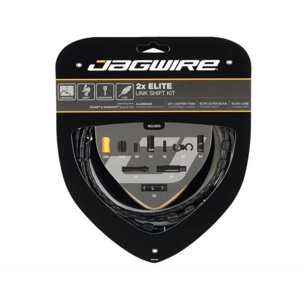 Jagwire 2X Elite Link Schaltzugset black