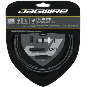 Jagwire 1X Elite Sealed ステルス Shift Cable Set ステルス ブラック