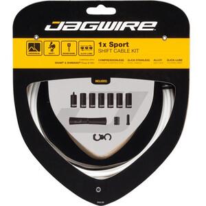 Jagwire 1X Sport Shift Shift Cable Set ホワイト