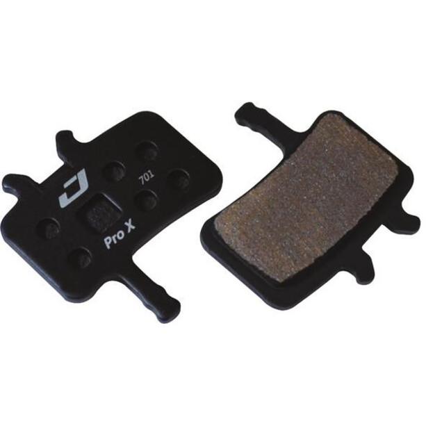 Jagwire Pro Extreme Sintered Scheibenbremsbeläge für Avid BB7/Alle Juicy Modelle black