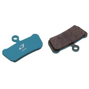 Jagwire Sport Organic Disc Brake Pads for SRAM Code RSC/R/Guide RE ブルー