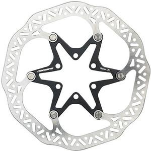 Jagwire Pro LR1 Bremsscheibe 6-Loch silver/black silver/black