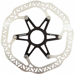 Jagwire Pro LR1 Bremsscheibe Centerlock silver/black silver/black