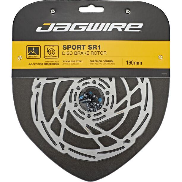 Jagwire Sport SR1 Bremsscheibe 6-Loch silver