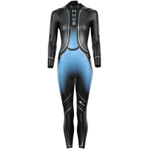 HUUB Agilis Brownlee 3.3 Wetsuit Damen black/blue black/blue