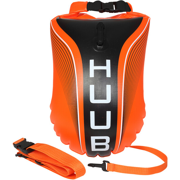 HUUB Tow Floats fluo orange