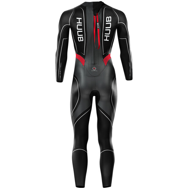 HUUB Aegis III 3:5 Full Suit Herren black/red