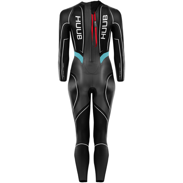 HUUB Aegis III 3:5 Full Suit Damen black/aqua