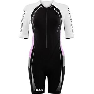 HUUB Anemoi Aero Trisuit Damen black/white/pink black/white/pink