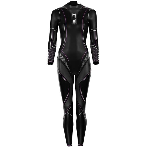 HUUB Aura 2 3:3 Wetsuit Damen black/pink/white