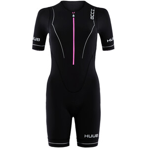HUUB Aura Long Course Triatlonpuku Naiset, musta musta