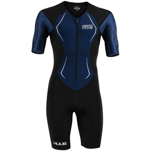 HUUB DS Long Course Trisuit Herren black/navy black/navy