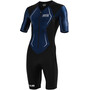 HUUB DS Long Course Trisuit Herren black/navy