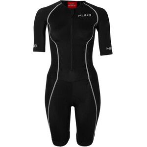 HUUB Essential Long Course Trisuit Damen black/red black/red