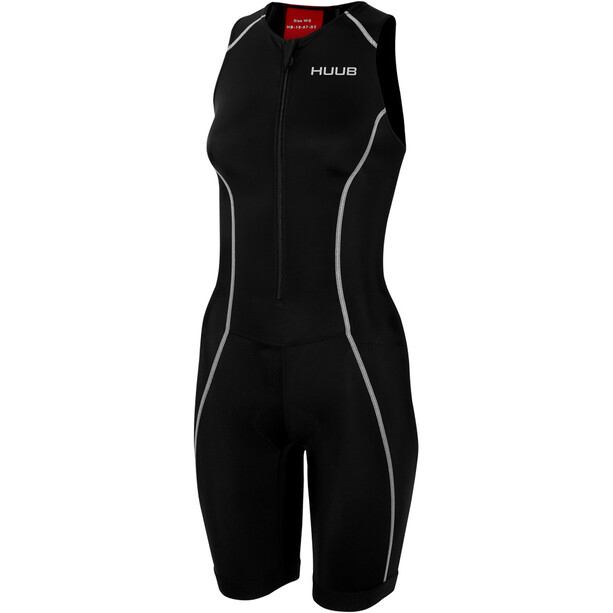 HUUB Essential Trisuit Damen black/red