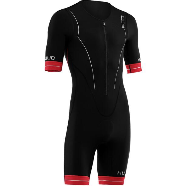 HUUB Race Langstrecken-Trisuit Herren black/red