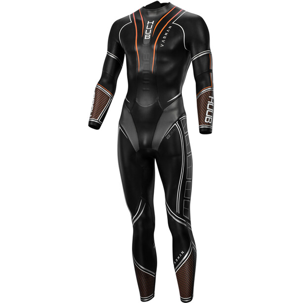 HUUB Varman 3:5 Wetsuit Herren black/orange