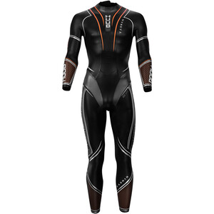 HUUB Varman 3:5 Wetsuit Herren black/orange black/orange