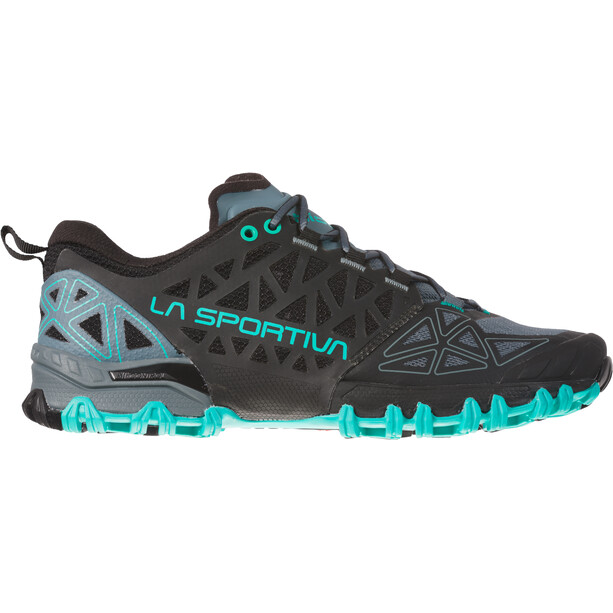La Sportiva Bushido II Trail Running Shoes Women slate/aqua