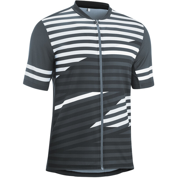 Gonso Agno Full-Zip Kurzarm Radshirt Herren graphite