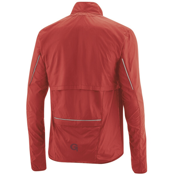 Gonso Cancano 2-in-1 Zip-Off Windjacke Herren high risk red