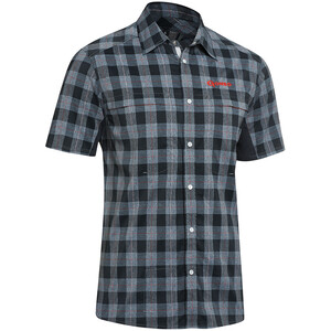 Gonso Don Kurzarm Radshirt Herren black melange check black melange check