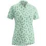Gonso Lilo Half-Zip Kurzarm Radshirt Damen mist green