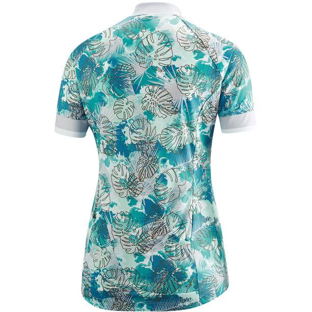 Gonso Nardis Half-Zip Kurzarm Radshirt Damen pearl blue