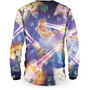 Loose Riders Catpocalypse Maillot manches longues Homme, Multicolore