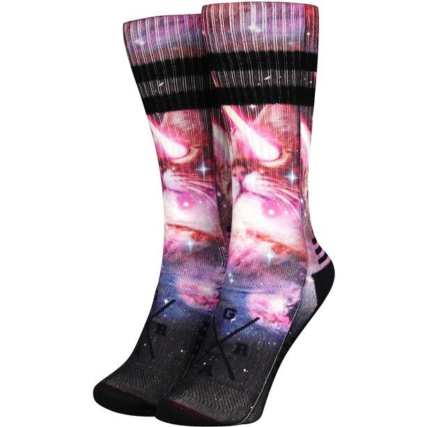 Loose Riders Technical Socken schwarz/pink