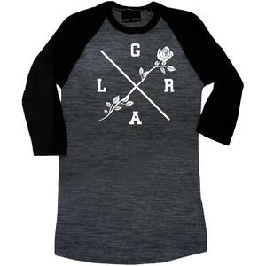 Loose Riders Rose Koszulka z rękawem 3/4 Kobiety, czarny/szary czarny/szary