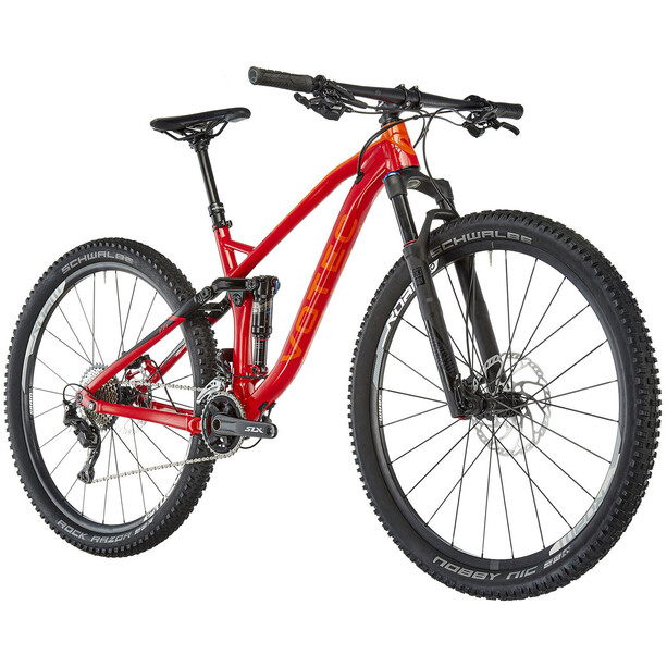 "VOTEC VXs Comp Tour/Trail Fully 29"" 2. Wahl red-black"
