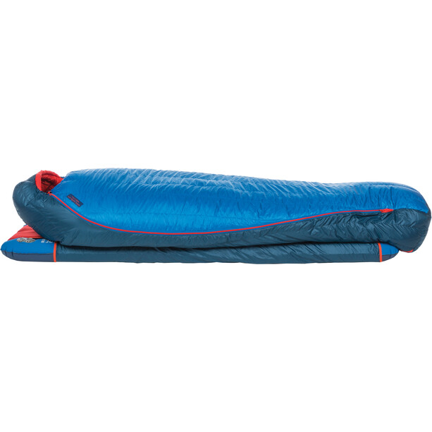 Big Agnes Anvil Horn 15 Sleeping Bag Wide Long blue/red