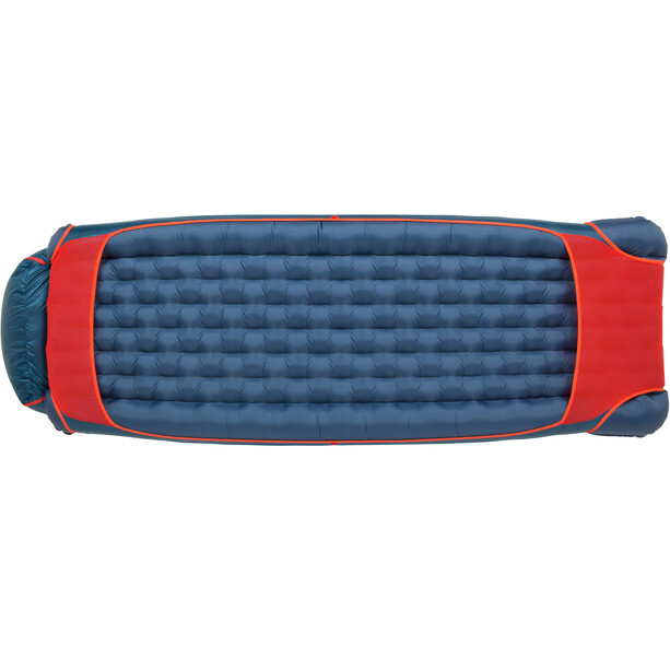 Big Agnes Anvil Horn 15 Schlafsack Wide Long blue/red