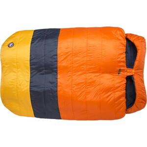 Big Agnes Dream Island 15 Schlafsack Double Wide orange/navy/yellow orange/navy/yellow