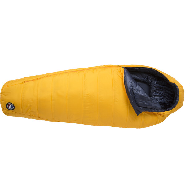 Big Agnes Lost Dog 0 Schlafsack Long yellow/navy