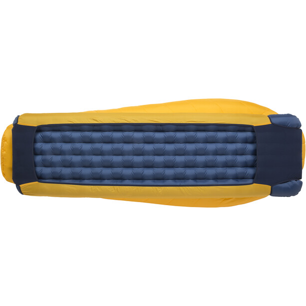 Big Agnes Lost Dog 30 Schlafsack Long yellow/navy